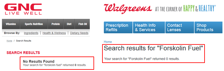 Forskolin Fuel Review Buy Walmart GNC Walgreens CVS