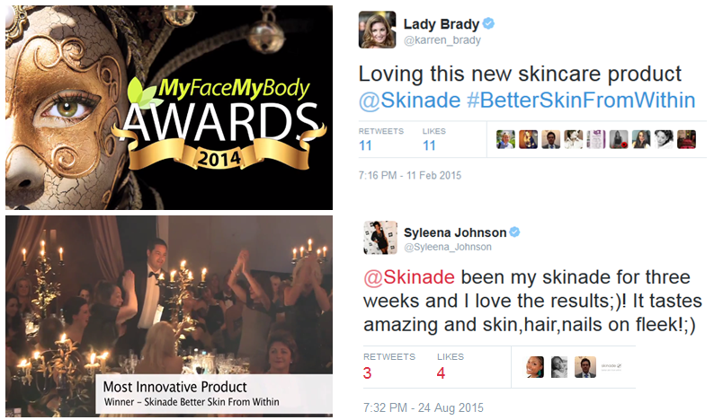 Skinade Reviews Offers Before and After Results Award