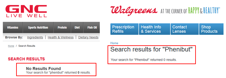 phenibut gnc walmart amazon walgreens vitamin shoppe