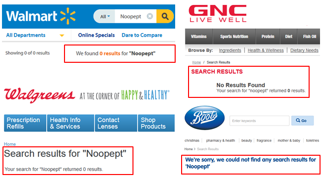 Noopept Buy Walmart Vitamin Shoppe CVS Amazon Walgreens Boots UK