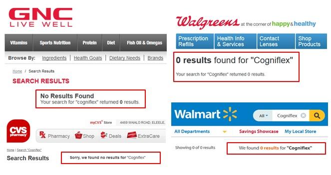 Cogniflex Where To Buy GNC Walmart Walgreens CVS