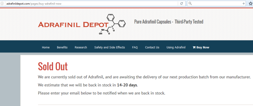 Adrafinil Depot Review