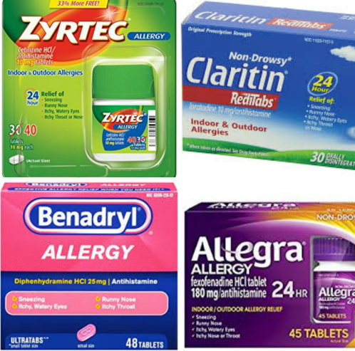 Zyrtec vs Benadryl Claritin Allegra For Hives