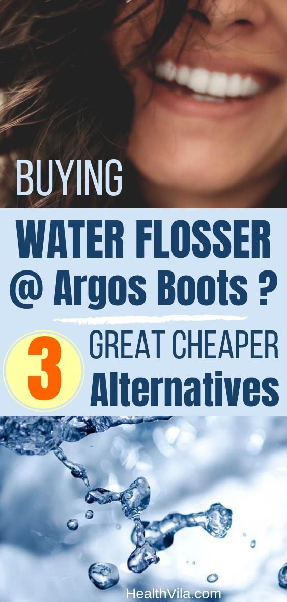 Water Flosser Argos Boots UK